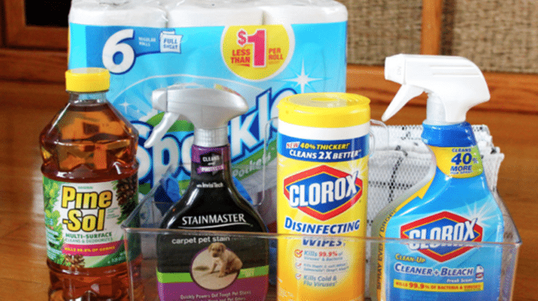 The Most Effective Cleaning Supplies